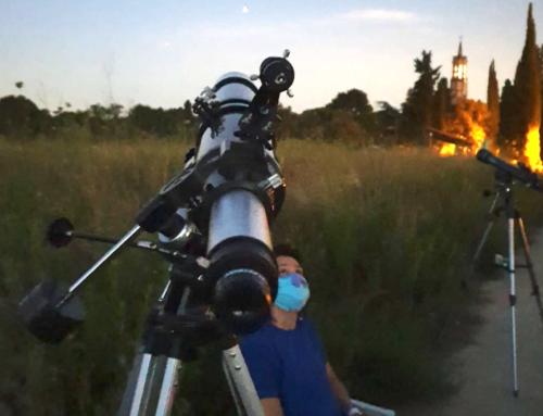 Observació astronòmica a l'estiu del 2020
