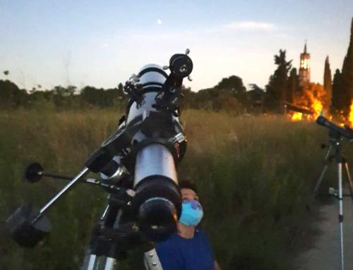 Observación astronómica en el verano de 2020