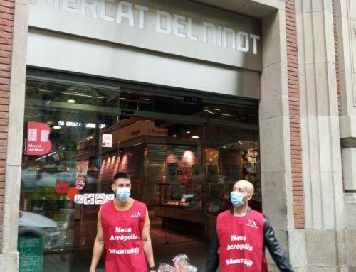El proyecto Mercat Solidari crece