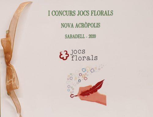 Recuperando los juegos florales, primer concurso de poesía en Sabadell