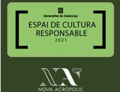 Nova Acròpolis Barcelona ha recibido el sello de Espacio de Cultura Responsable de la Generalitat de Cataluña